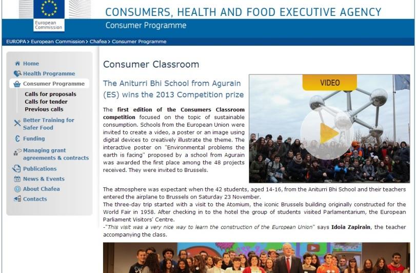eu consumer classroom new