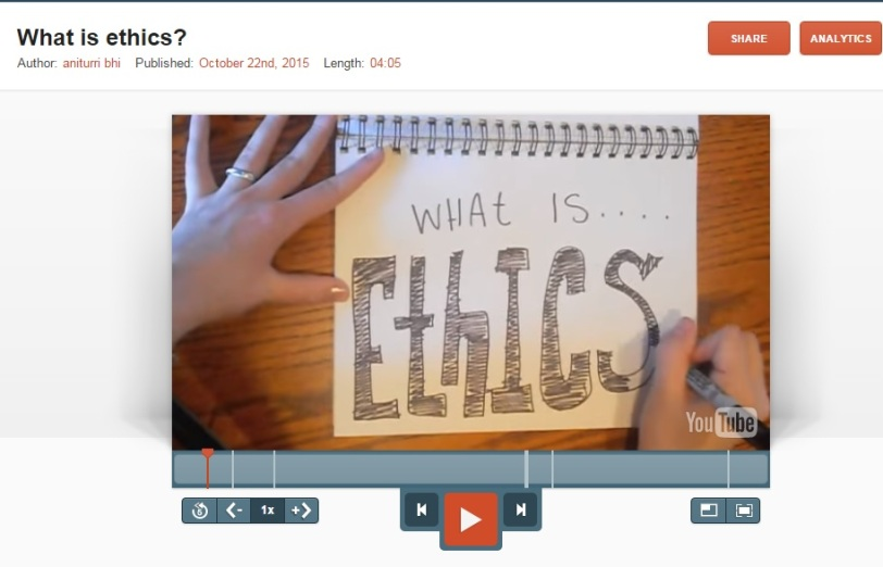 what is ethics video