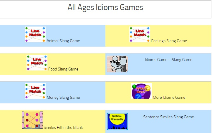 all ages idioms
